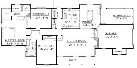 Country home plans by natalie f 1568 Circle house plans