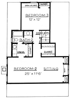 Country Home Plan F-1735