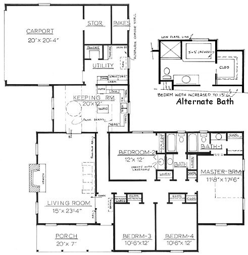 Free home plans house plans ranch with mother in law suite for Home plans with mother in law suite