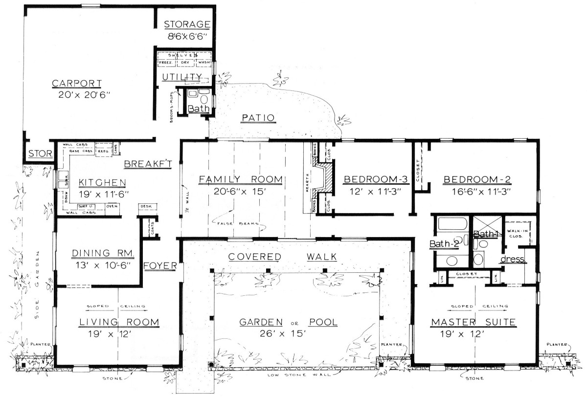 1900 sq ft ranch house plans for House plans 1800 to 2200 sq ft