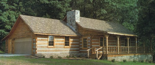 Log home plans by natalie easy living great log home for Log homes under 1000 square feet